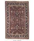 RugStudio presents ORG Handtufted 797 Claret Hand-Tufted, Better Quality Area Rug