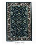 RugStudio presents ORG Handtufted 797 Navy/Claret Hand-Tufted, Better Quality Area Rug