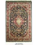 RugStudio presents ORG Altus Kashan Navy/Red Hand-Tufted, Good Quality Area Rug
