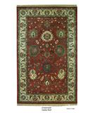 RugStudio presents ORG Crossroads Cayley Rust/Cream Hand-Tufted, Better Quality Area Rug