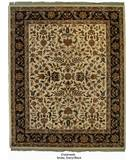RugStudio presents ORG Crossroads Drake Ivory/Black Hand-Tufted, Good Quality Area Rug