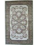 RugStudio presents ORG Crossroads Georgette Ivory Hand-Tufted, Good Quality Area Rug