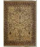 RugStudio presents ORG Crossroads Cayley Cream/Sage Green Hand-Tufted, Good Quality Area Rug