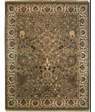 RugStudio presents ORG Crossroads Cayley Sage/Cream Hand-Tufted, Good Quality Area Rug