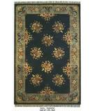 RugStudio presents Org Destin Adall Black Hand-Tufted, Good Quality Area Rug