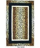 RugStudio presents Org Destin Leopard Warmgold Hand-Tufted, Good Quality Area Rug