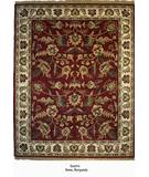 RugStudio presents Org Destin Rena Burgundy/Ivory Hand-Tufted, Good Quality Area Rug
