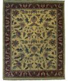 RugStudio presents ORG Destin Rena Khaki/Burgundy Hand-Tufted, Good Quality Area Rug