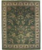 RugStudio presents Org Destin Rena Sage/Tan Hand-Tufted, Good Quality Area Rug