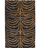 RugStudio presents ORG Destin Zebra Cocoa Hand-Tufted, Good Quality Area Rug