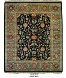 RugStudio presents Org Handtufted Oushak Black Hand-Tufted, Best Quality Area Rug