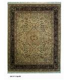RugStudio presents ORG Ovations St-3 Beige/Black Hand-Tufted, Best Quality Area Rug