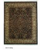 RugStudio presents ORG Ovations St-3 Black/Beige Hand-Tufted, Best Quality Area Rug