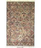 RugStudio presents ORG Handtufted Panel Kerman Pastel Hand-Tufted, Better Quality Area Rug