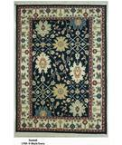 RugStudio presents ORG Soumak 1709 Black/Ivory Flat-Woven Area Rug