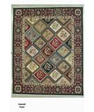 RugStudio presents ORG Soumak Panel Multi Flat-Woven Area Rug