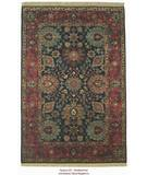 RugStudio presents ORG Nuance Sultanabad Navy/Raspberry Hand-Knotted, Good Quality Area Rug