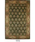 RugStudio presents ORG Handtufted Timas Sage Hand-Tufted, Better Quality Area Rug