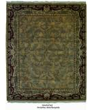 RugStudio presents ORG Handtufted Versailles Gold/Burgundy Hand-Tufted, Better Quality Area Rug