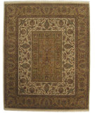 RugStudio presents ORG Persian Classics GC40 Gold / Beige Hand-Knotted, Best Quality Area Rug