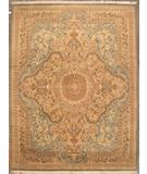 RugStudio presents ORG Shah Abbas 16/18 117 Light Blue Hand-Knotted, Good Quality Area Rug
