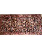 RugStudio presents ORG Kashan Anique Kashan Navy Area Rug