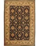 RugStudio presents ORG Jaipur OM-1 Black-Gold Hand-Knotted, Best Quality Area Rug