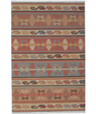 RugStudio presents Org Vindhya Kilim Multi Flat-Woven Area Rug