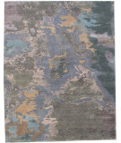 RugStudio presents Org Madison Ocean Multi Hand-Knotted, Good Quality Area Rug