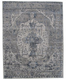 RugStudio presents Org Madison Broken Persian Beige/Light Grey Hand-Knotted, Good Quality Area Rug