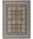 RugStudio presents ORG Pacific Bakhtiari Sage/Brown Hand-Knotted, Good Quality Area Rug