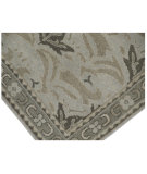 RugStudio presents Org Pathankoat Am 1601 Light grey Hand-Knotted, Better Quality Area Rug