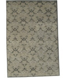 RugStudio presents Org Prayag Crown Silver/Grey Hand-Knotted, Best Quality Area Rug