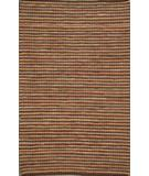 RugStudio presents ORG Casual Cotton 8646 Brown Rust Rag Area Rug