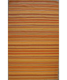 RugStudio presents ORG Casual Cotton 8462 Rust Orange Flat-Woven Area Rug