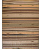 RugStudio presents ORG Casual Cotton 9118 Beige Brown Flat-Woven Area Rug