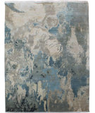 RugStudio presents Org Expressions Ce2250b Grey/Multi Hand-Knotted, Good Quality Area Rug