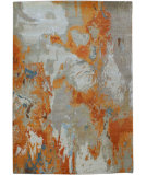 RugStudio presents Org Expressions Ce2257b Tangerine Hand-Knotted, Good Quality Area Rug