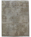 RugStudio presents Org Urbane Cea7083 Ivory Hand-Knotted, Good Quality Area Rug