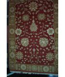 RugStudio presents ORG Indo-Peshawar Do-95 Rust-Dark Gold Hand-Knotted, Better Quality Area Rug