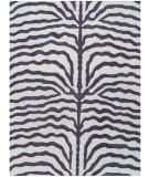 RugStudio presents ORG Destin Zebra Purple Hand-Tufted, Better Quality Area Rug