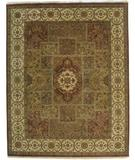 RugStudio presents ORG Persian Classics Gc19 Brown-Beige Hand-Knotted, Good Quality Area Rug