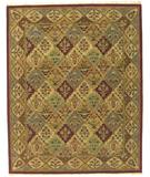 RugStudio presents ORG Panel Kerman Red Hand-Tufted, Better Quality Area Rug