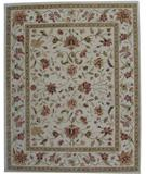RugStudio presents ORG Peshawar Ht-628 Beige Hand-Tufted, Better Quality Area Rug