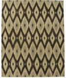 RugStudio presents ORG Ikat Tufted ST-506 Brown Hand-Tufted, Best Quality Area Rug
