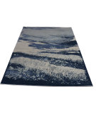 RugStudio presents Org New Modern Textures A-109-A Multi Hand-Knotted, Good Quality Area Rug