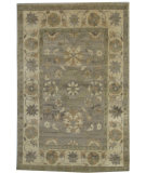 RugStudio presents Org Discovery K-36 Grey/Ivory Hand-Knotted, Better Quality Area Rug