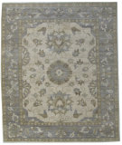 RugStudio presents Org Discovery K-38 Ivory/Grey Hand-Knotted, Good Quality Area Rug