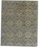 RugStudio presents Org Discovery K-39 Grey Hand-Knotted, Good Quality Area Rug