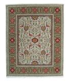 RugStudio presents ORG Handtufted Oushak Pale-Taupe Hand-Tufted, Best Quality Area Rug